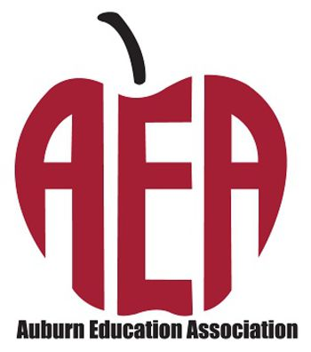 Apple shaped AEA logo using acromnym